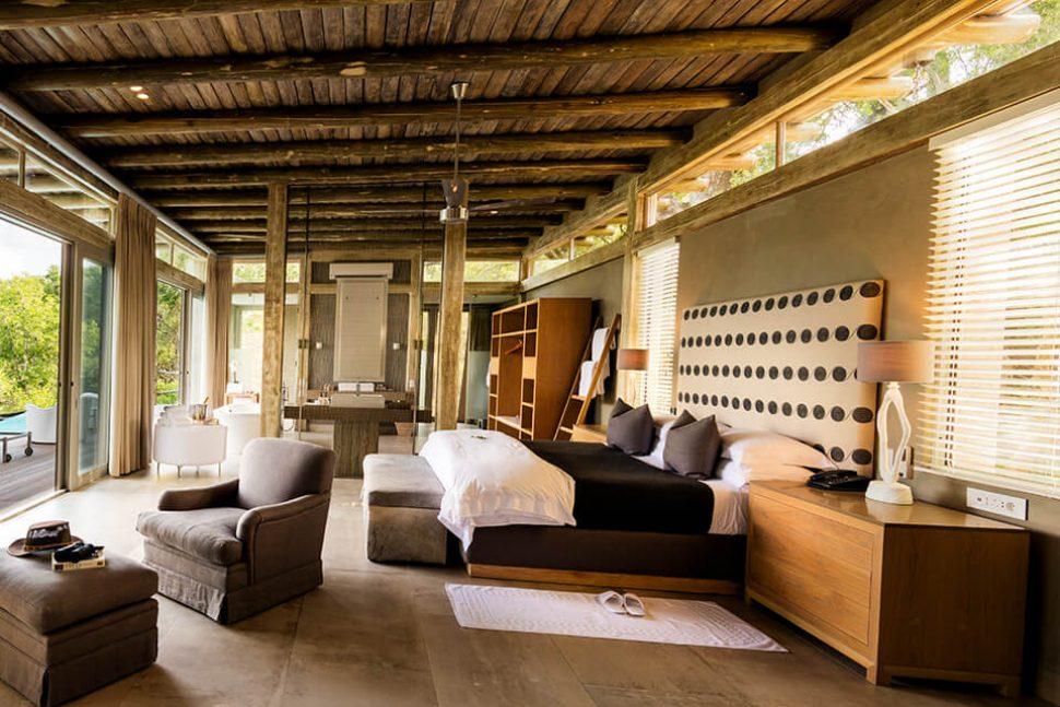 kapama hotel bedroom