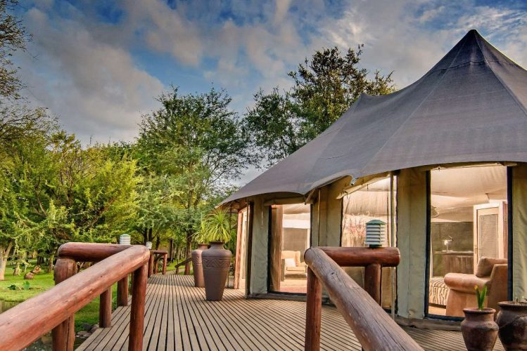 karongwe chiosmo tented camp