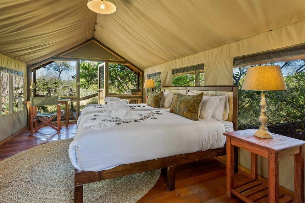 saguni safari lodge bedroom